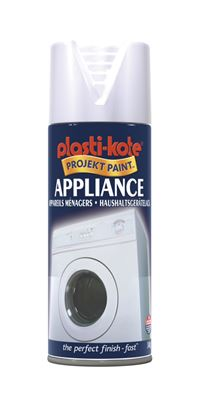 Picture of Plasti-kote Appliance Spray Paint 400ml White