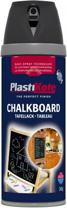 Picture of Plasti-kote Chalkboard Spray Paint Black 400ml