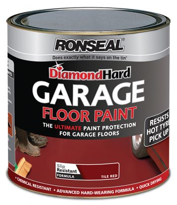 Picture of Ronseal Diamond Hard Garage Floor Paint 5L Red