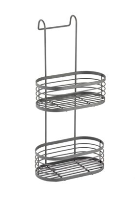 Picture of Blue Canyon 2 Tier Over Shower Screen Caddy Grey