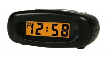 Picture of Acctim Bentima LCD Alarm Clock 37x90x65mm Black