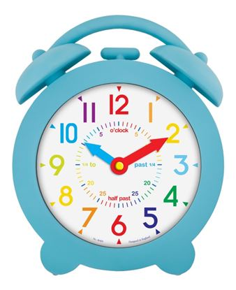 Picture of Acctim Bell Time Teach Clock Blue