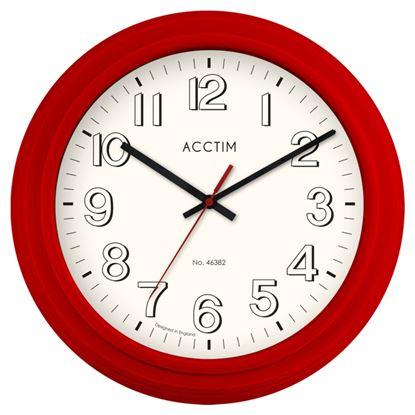 Picture of Acctim Burton Retro Style Wall Clock 250mm