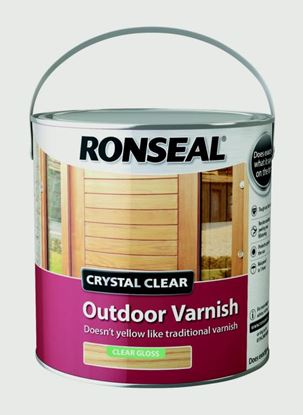 Picture of Ronseal Crystal Clear Outdoor Varnish 2.5L Matt