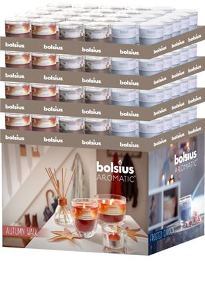 Picture of Bolsius Display Glass Fragrance Stand 96 Piece