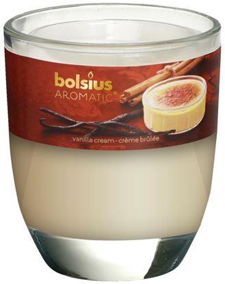 Picture of Bolsius Filled Glass 8070 Vanilla Cream