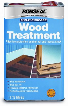 Picture of Ronseal Multi Purpose Universal Wood Treatment 5L