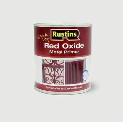 Picture of Rustins Quick Drying Red Oxide Primer 1L