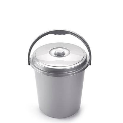 Picture of Albero Forte Silver Eco Dustbin 21L