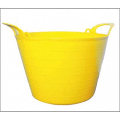 Picture of Ambassador 73L Flexi Tub Yellow