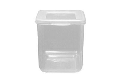 Picture of Beaufort Food Container Square Hinged Lid 520ml Clear