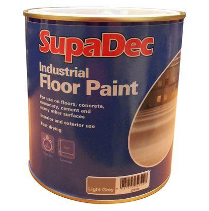Picture of SupaDec Industrial Floor Paint 1L Light Grey