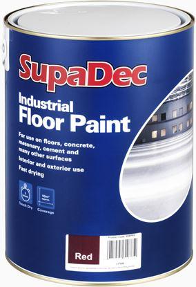 Picture of SupaDec Industrial Floor Paint 5L Tile Red