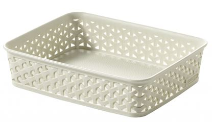 Picture of Curver My Style Rattan Tray Vintage White A5