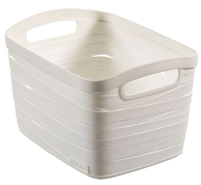 Picture of Curver White Ribbon Small 8L