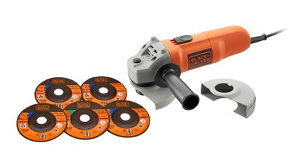 Picture of Black  Decker Angle Grinder 115mm