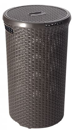 Picture of Curver Rattan Round Her 48L Dark Brown