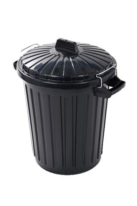 Picture of Curver Dustbin With Metal Clip Lid 70L