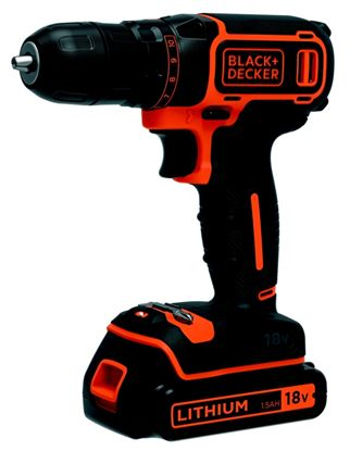 Picture of Black  Decker Lithium-Ion Drill Driver 18v