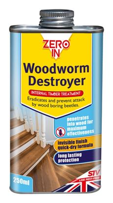 Picture of Zero In Woodworm Destroyer 250ml Can