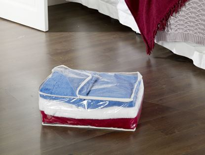 Picture of H  L Russel Blanket Storage Bag Clear