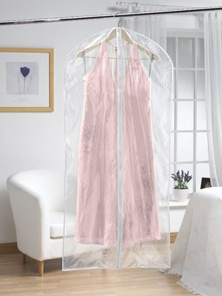 Picture of H  L Russel Extra Long Dress Cover Twin Pack Clear 158cm x 58cm