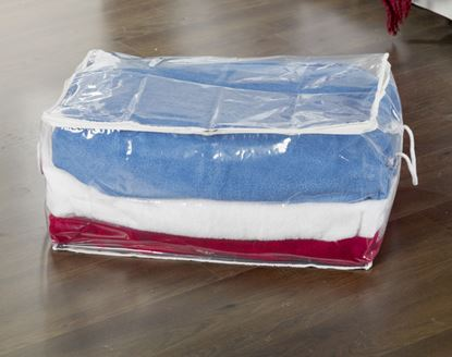 Picture of H  L Russel Oblong Storage Bag Clear