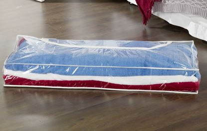 Picture of H  L Russel Underbed Storage Bag Clear