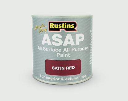 Picture of Rustins ASAP All Surface All Purpose 500ml Red