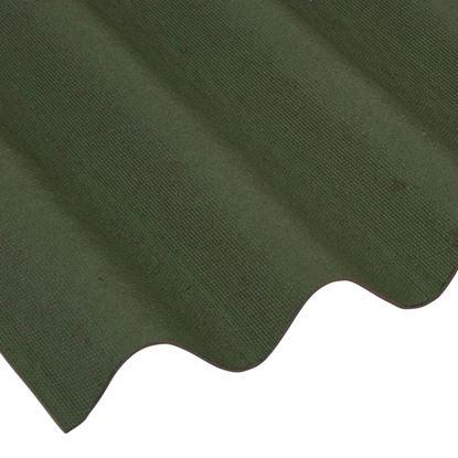 Picture of Ariel Coroline Bitumen Sheet Green 0.95x2
