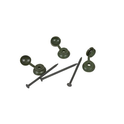 Picture of Ariel Coroline Fixings Pack Of 20 Green