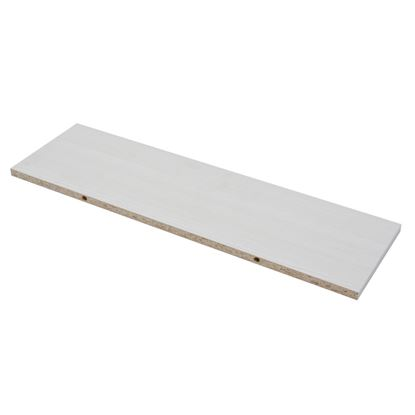 Picture of Borganised 4XS XS2 White Wood Grain Shelf 60x20