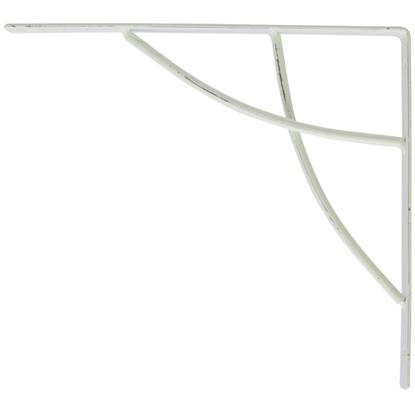 Picture of Borganised Modern Bracket White Old 19x22