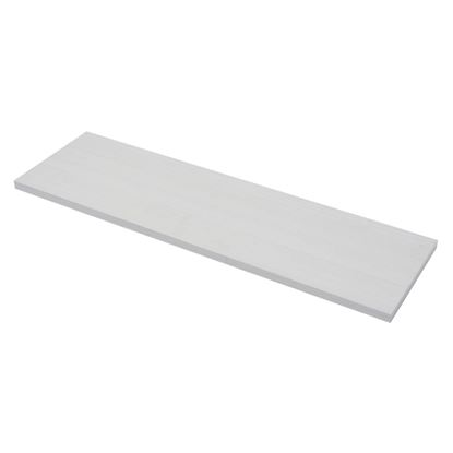 Picture of Borganised White Wood Grain Shelf 80x23x5cm