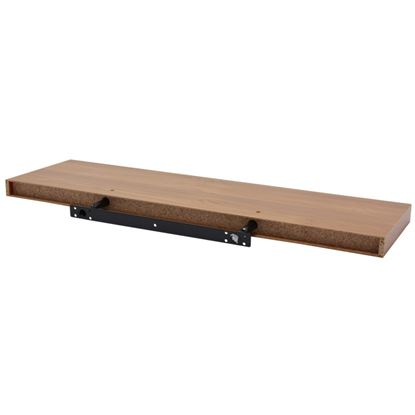 Picture of Borganised XL4 Knotty Oak Effect Floating Shelf 80x23x5cm