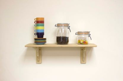 Picture of Core Natural Wood Shelf Kit Pine 585mm