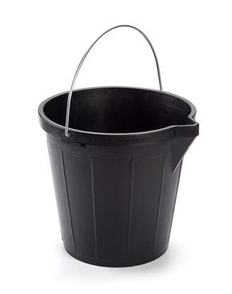 Picture of Plasticforte Builders Heavy Duty Bucket 12L