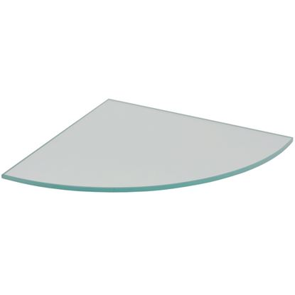 Picture of Duraline Glass Corner Shelf