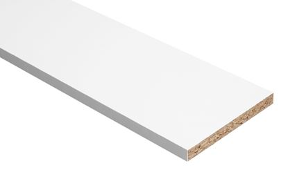 Picture of Hill Panel White Melamine Faced Chipboard 8ft x 24