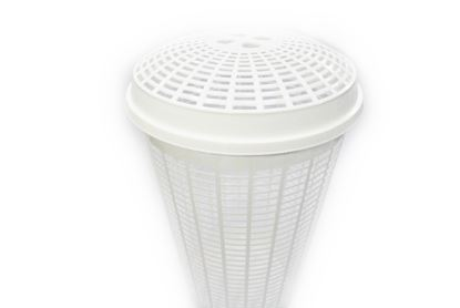 Picture of TML Ali Baba Laundry Basket White