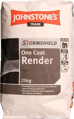 Picture of Stormshield One Coat Render Grey 25kg