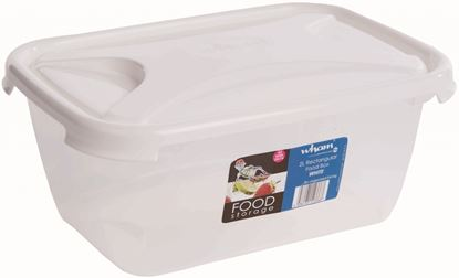 Picture of Wham Rectangular Food Storage White 1.6L