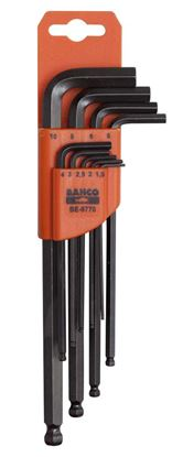 Picture of Bahco Hex Key Set 9 Piece