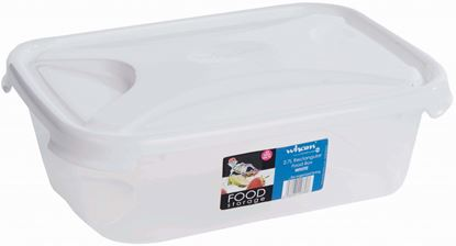 Picture of Wham Rectangular Food Storage White 2.7L