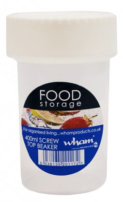 Picture of Wham Screw Top Beaker 400ml
