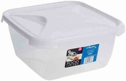Picture of Wham Square Food Storage 2L White