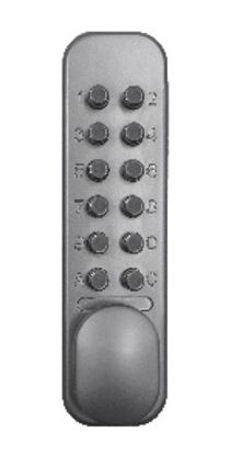 Picture of Codelocks Easy Code Mechanical Deadlock Silver Silver 60mm