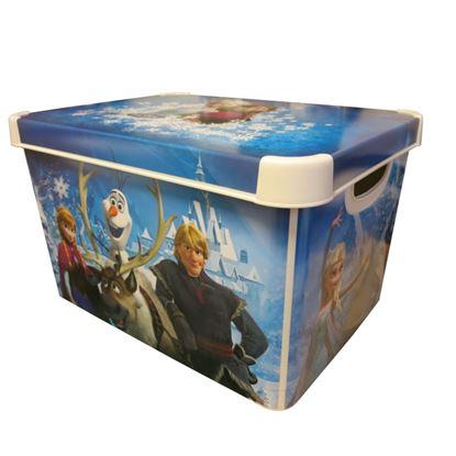 Picture of Curver Large Stockholm Deco Storage Box 22L Frozen