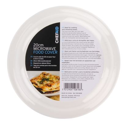Picture of Chef Aid Microwave 20cm diameter Food Cover