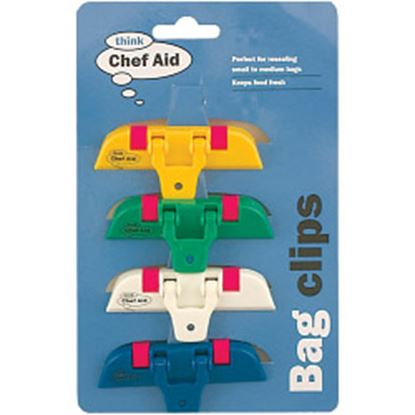 Picture of Chef Aid Bag Clippets Set of 4